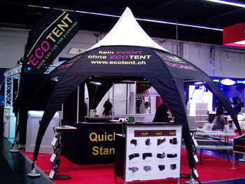 Dome Messestand 6x6m
